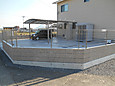 個人住宅のフェンスとカーポート(K様邸)